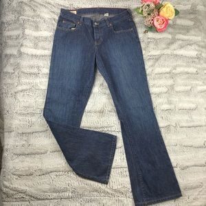 Abercrombie Blue Wash Low Rise Bootcut Sz 8R